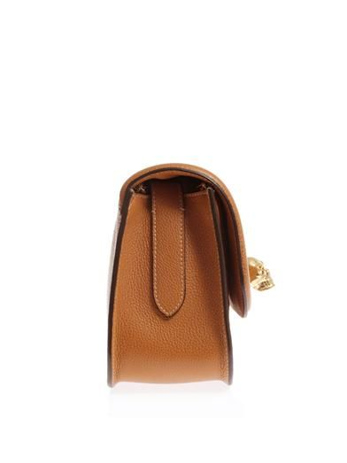Alexander McQueen Padlock leather cross-body bag