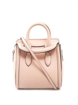 Heroine mini leather tote
