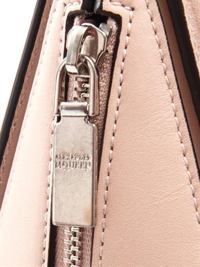 Alexander McQueen Heroine mini leather tote
