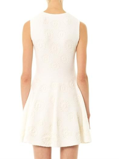Alexander McQueen Embossed Sangallo dress