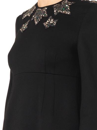 Alexander McQueen Ivy crystal-embellished shift dress