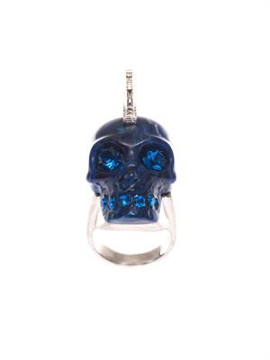 Punk skull ring