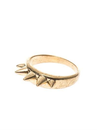Alexander McQueen Stud ring