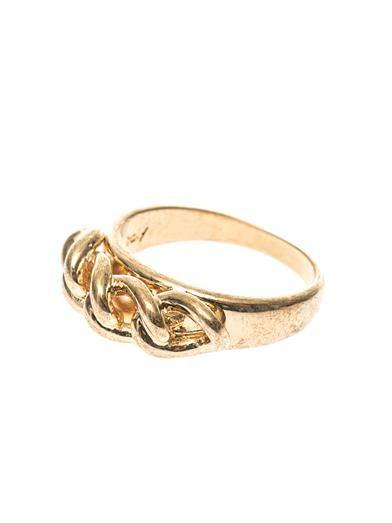 Alexander McQueen Chain ring