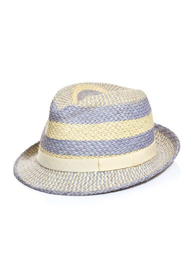 Anthony Peto Salvador grosgrain ribbon panama hat