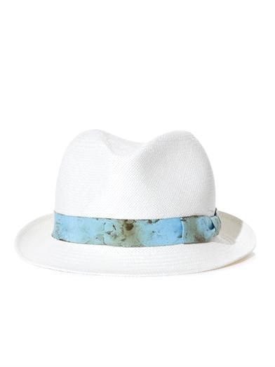 Anthony Peto Salvador straw fedora