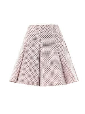 Papier vitrail cut out skater skirt