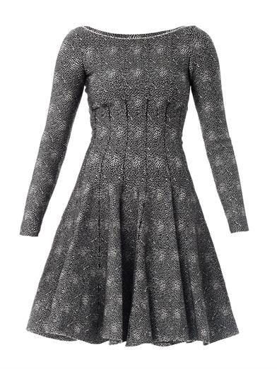 Azzedine Alaïa Mouchette spot-print dress