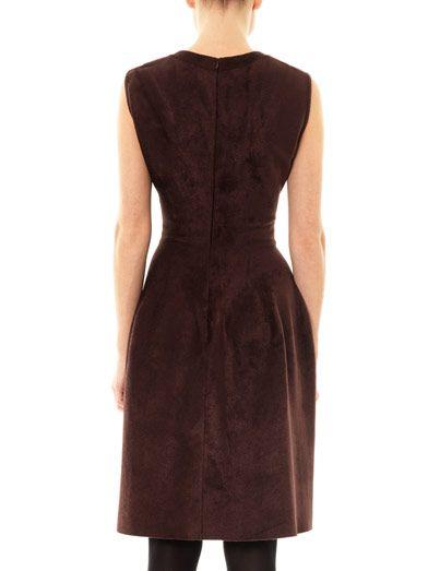 Azzedine Alaïa Velvet square-neck dress