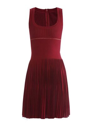 Boraise pleated dress
