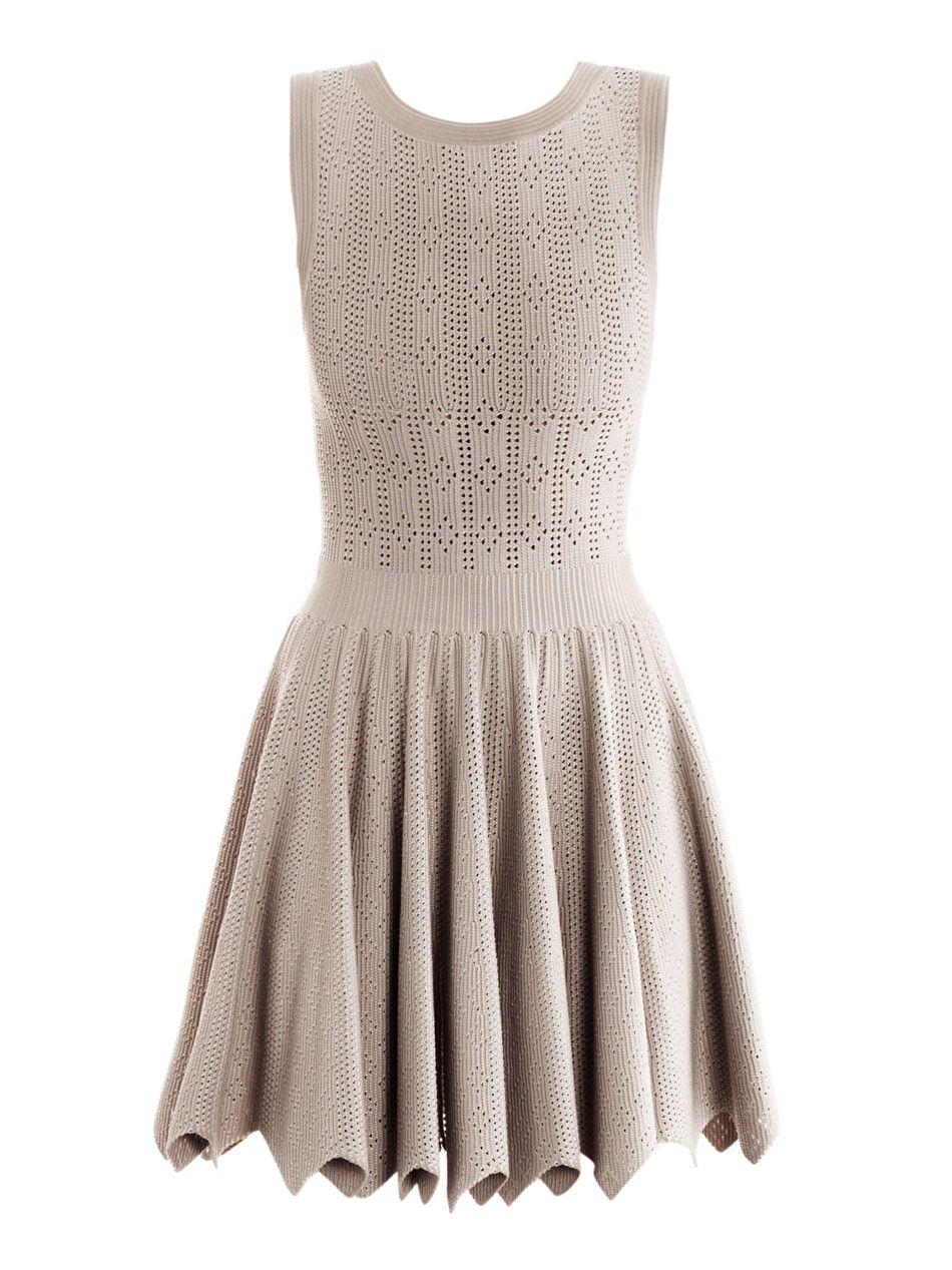 Replica Pink Alaia Dress AZZEDINE ALAIA Mantile