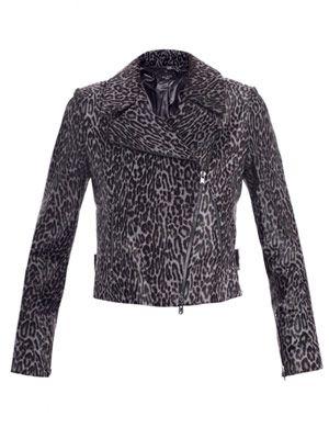 Guepard calf hair jacket
