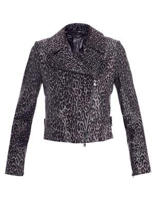 Guepard calf hair jacket