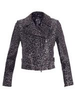 Perfecto Guepard calf hair jacket