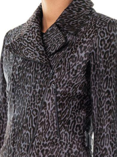 Azzedine Alaïa Guepard calf hair jacket