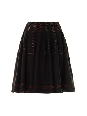 Moucharabieh rainbow skirt