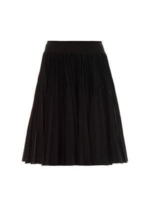 Plissé soleil pleated skirt