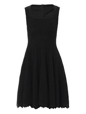 Serpentine full skater dress