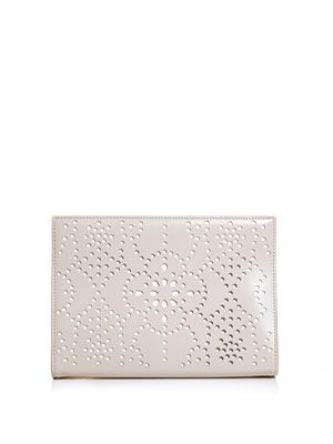 Laser cut out clutch