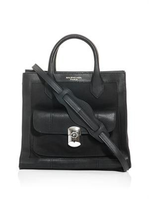 The padlock shoulder bag