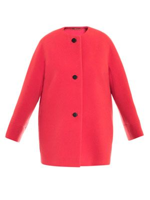 House classic collarless coat