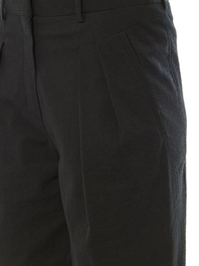 Balenciaga Textured cotton Bermuda shorts