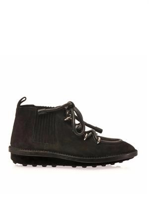 Eskimo suede ankle boots