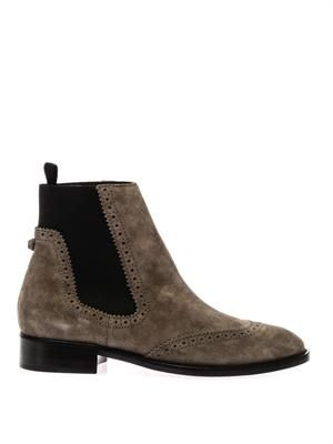 Arena suede chelsea boots