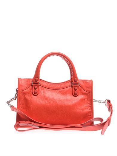Balenciaga Classic Mini City leather tote
