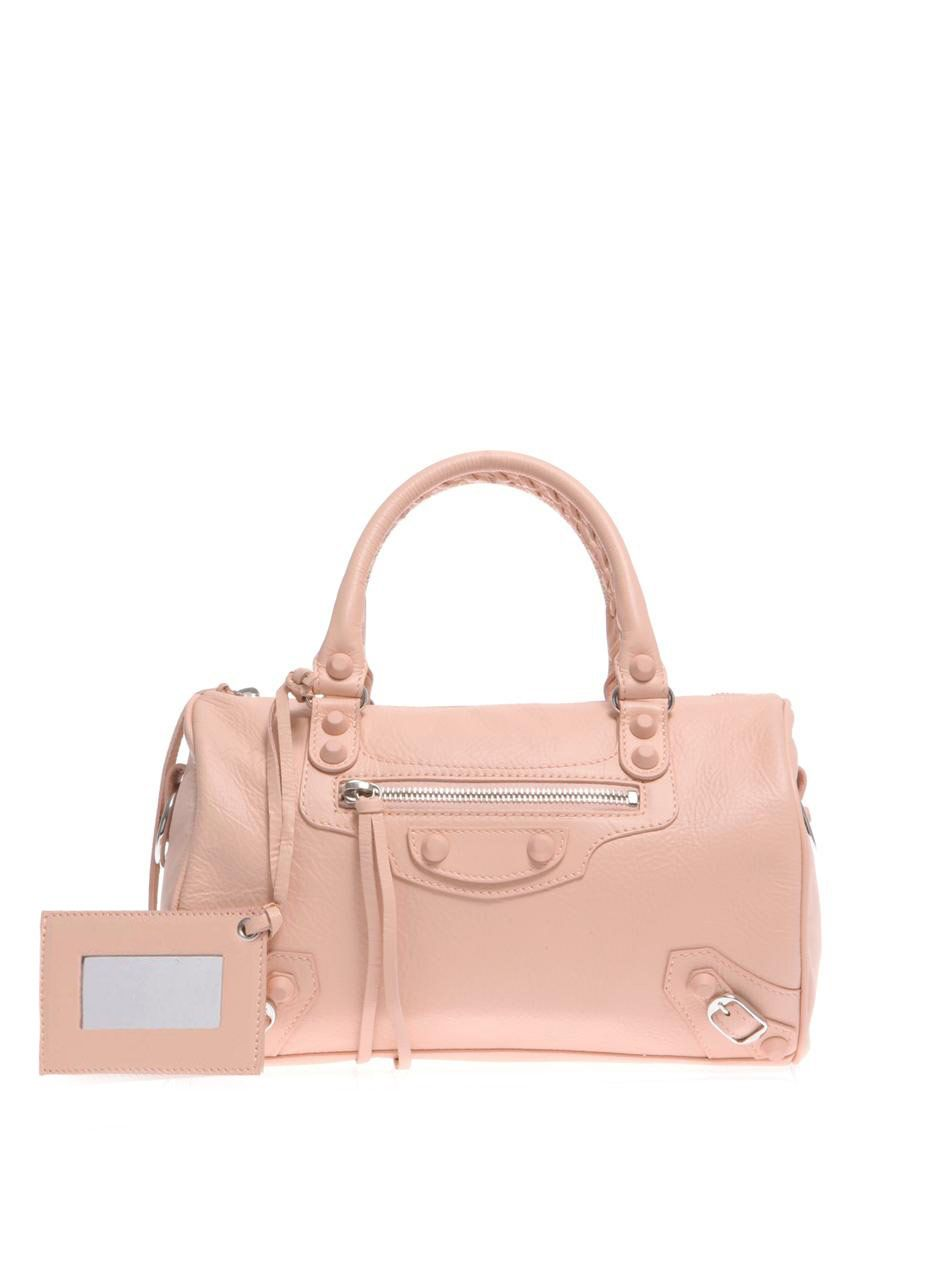 Classic Mini Twiggy leather bag