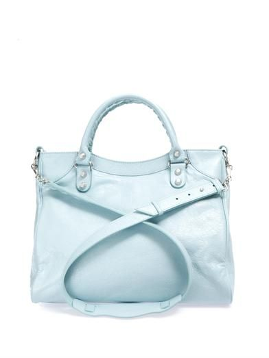 Balenciaga Giant Velo leather tote