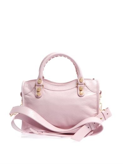 Balenciaga Giant Mini City leather tote