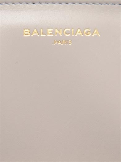 Balenciaga Padlock Work leather tote