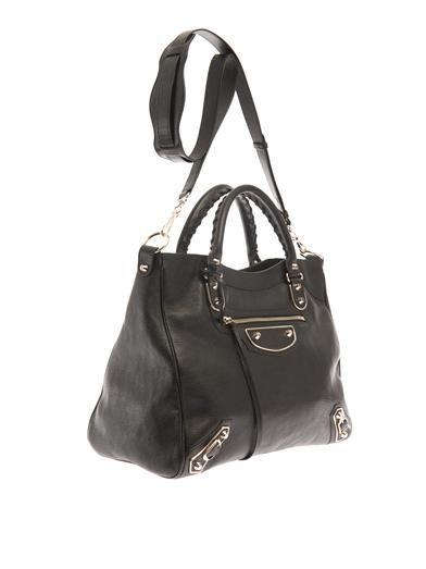 Balenciaga Classic Velo edge-line leather tote