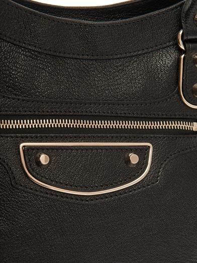 Balenciaga Classic Velo edge-line leather tote