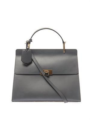 Le Dix Cartable M leather tote