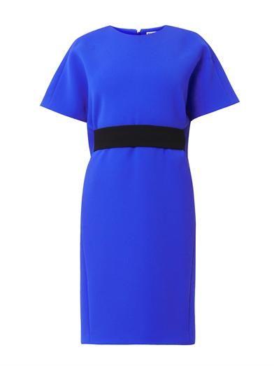 Balenciaga Belted crepe dress
