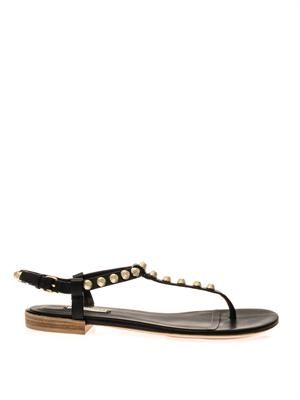 Arena studded flat sandals