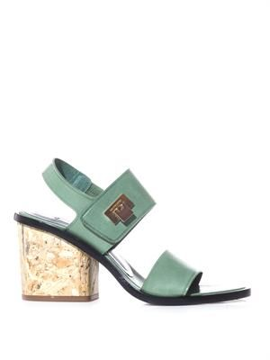 Le Dix block-heel sandals