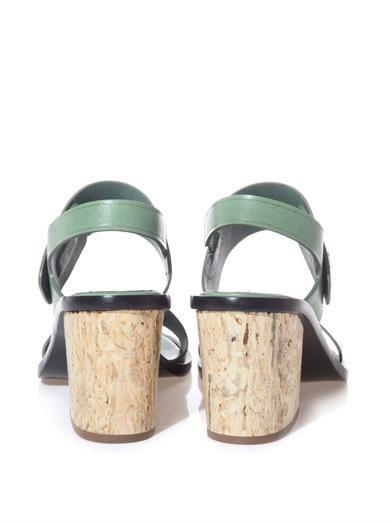 Balenciaga Le Dix block-heel sandals