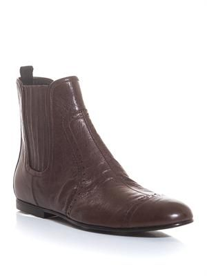 Arena leather Chelsea boots