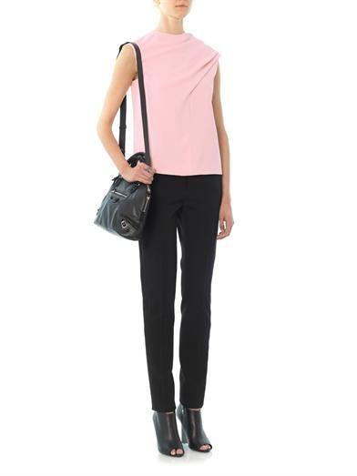 Balenciaga Drape front blouse