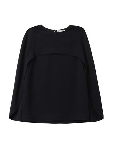 Balenciaga Cady cape-top