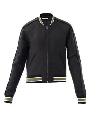 Sphinx embroidered bomber jacket