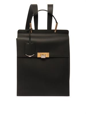Le Dix leather backpack