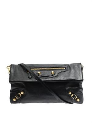 Giant 12 envelope leather clutch