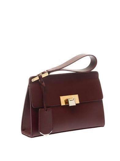 Balenciaga Le Dix pochette leather clutch