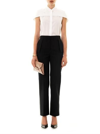 Balenciaga Straight-leg tailored trousers