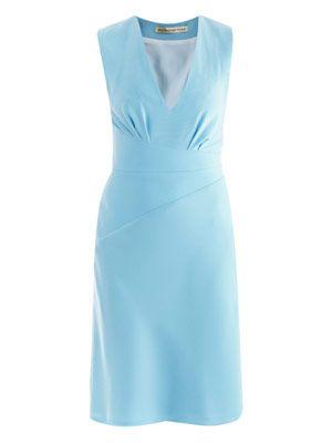 Crepe cache Coeur dress