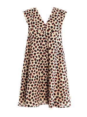 Berlingot-print bell dress
